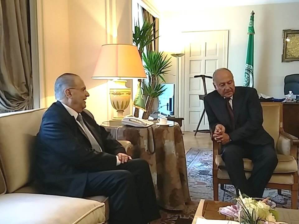 kasoulides me gs arab league