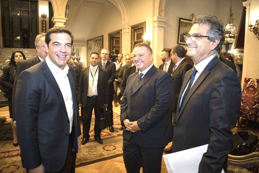 Συνάντηση με τους Προέδρους των Ελληνικών Κοινοτήτων Καΐρου και Αλεξάνδρειας